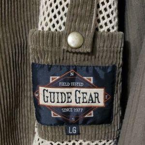 Guide Gear LG corduroy Jacket mens Super Nice!!!!!